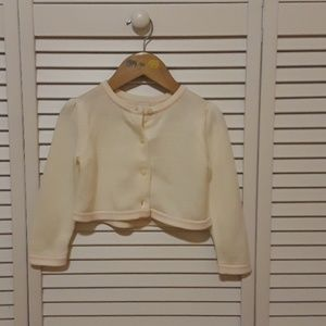 Janie and Jack cropped cardigan sweater